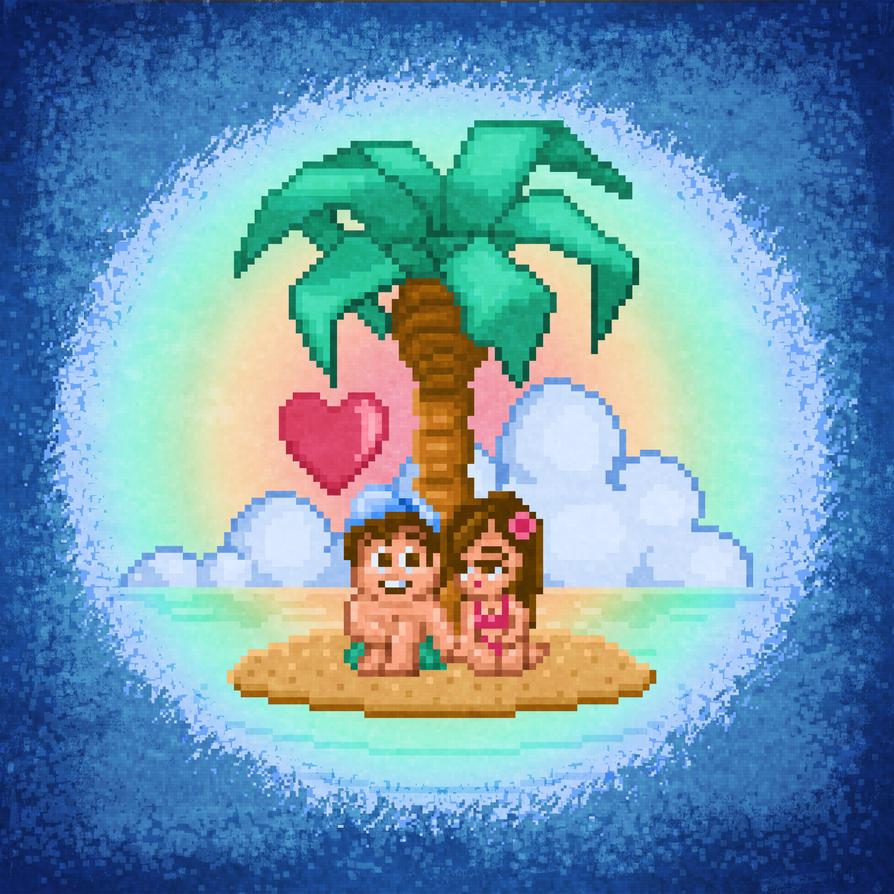 Adventure Island Love by likelikes