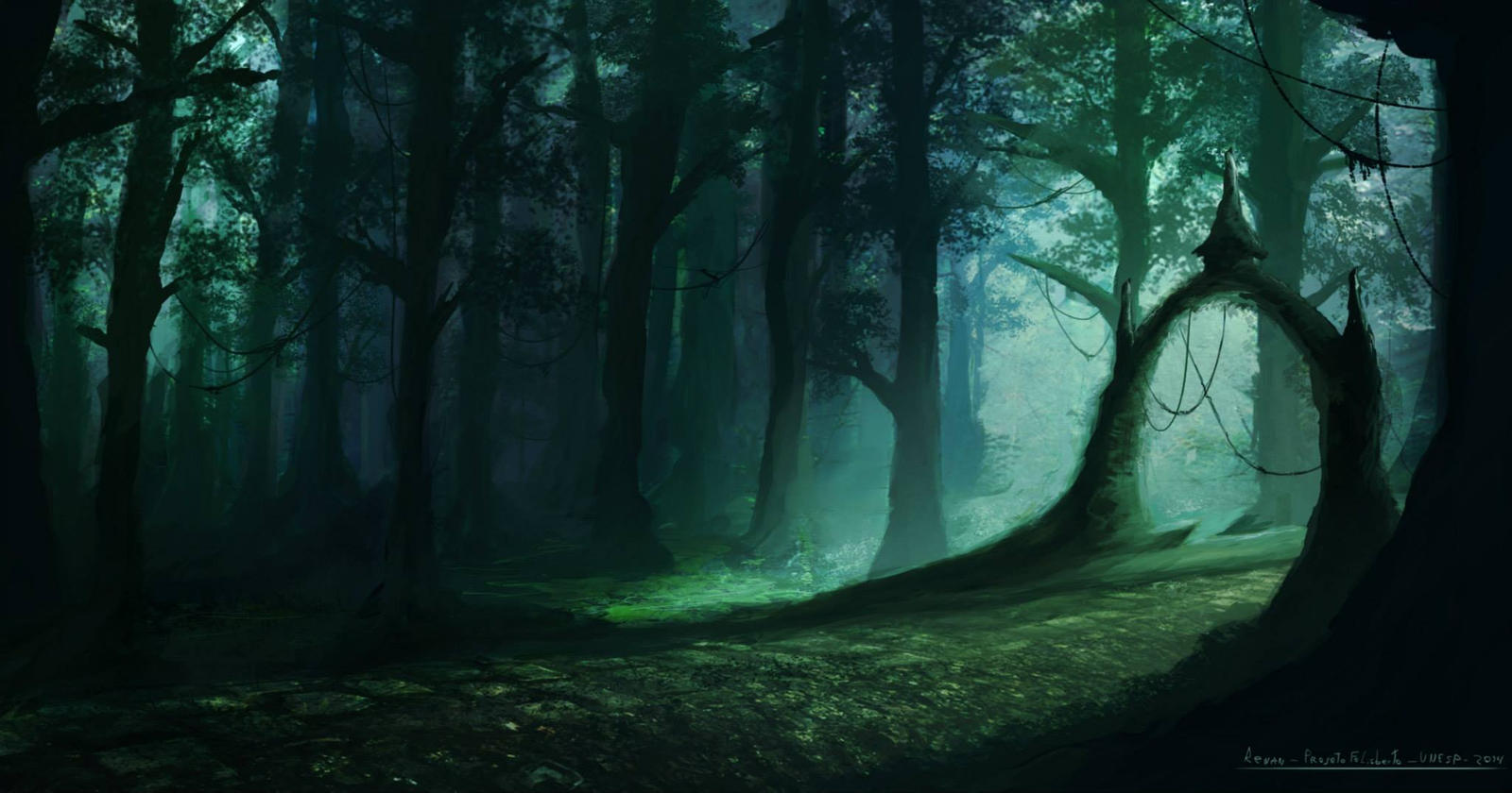 Fantasy Forest by renanrdgs