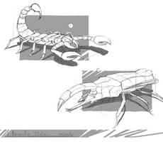 Creature Studies by renanrdgs