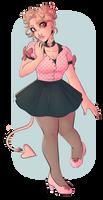 miss sugar pink by sodqpop