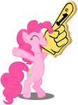 Pinkie Pie cheering
