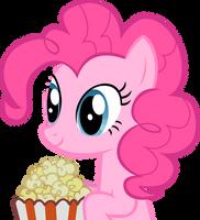 Pinkie Popcorn by Stinkehund