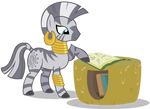 Zecora with book