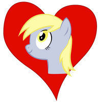 I heart Derpy by Stinkehund