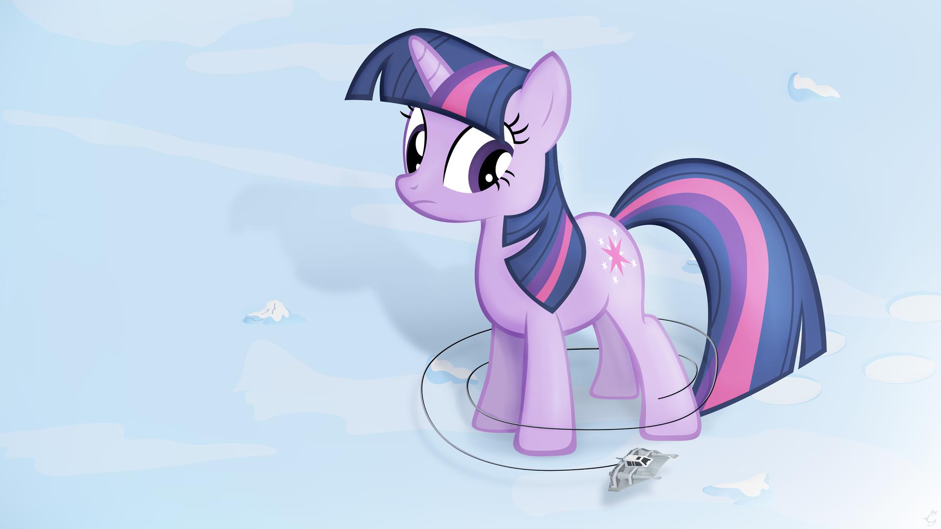 Bring that pony down - widescreen by Stinkehund