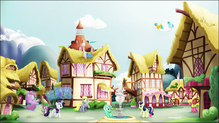 A Ponyville Noon