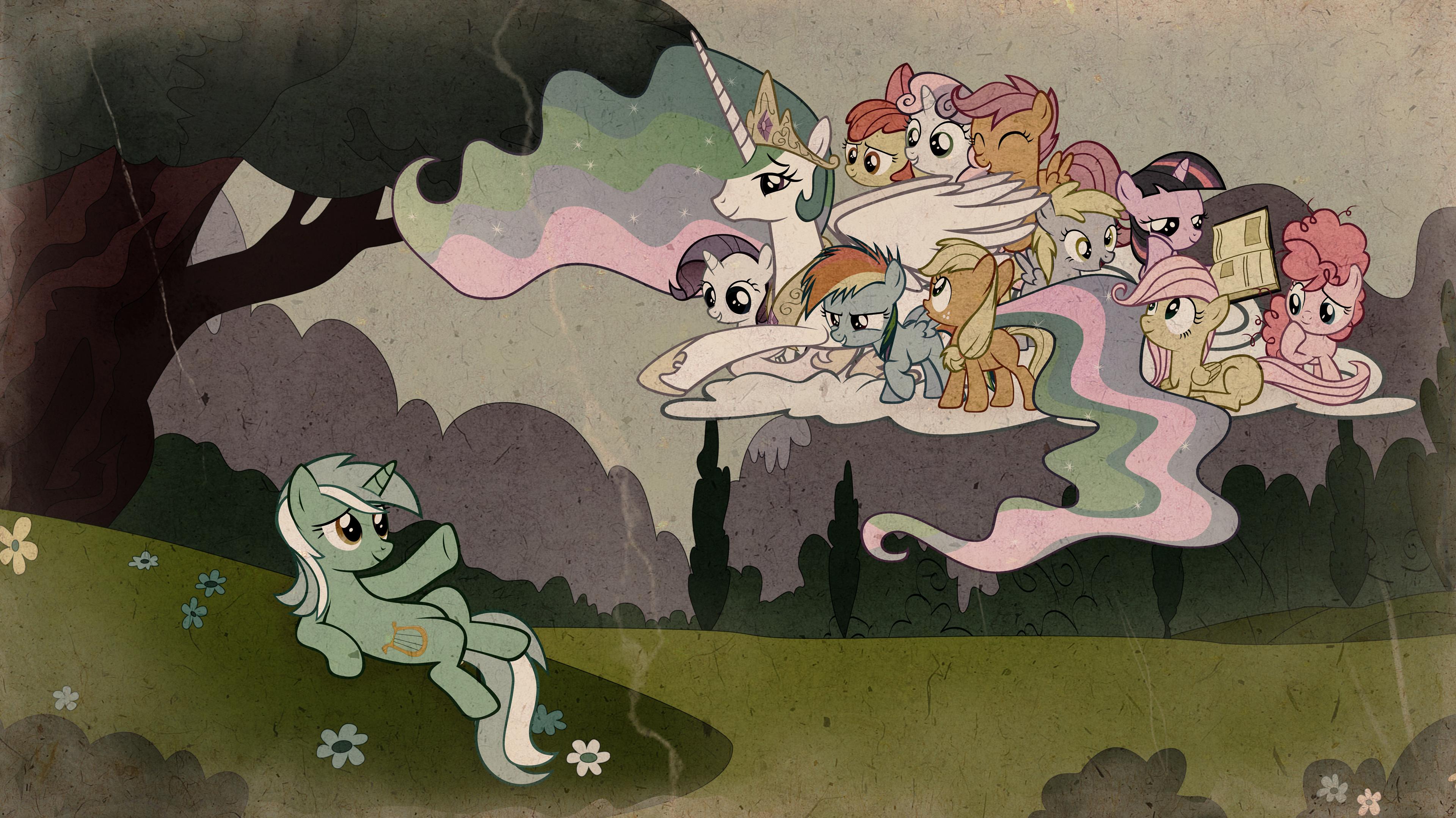 The Creation of Lyra by Stinkehund