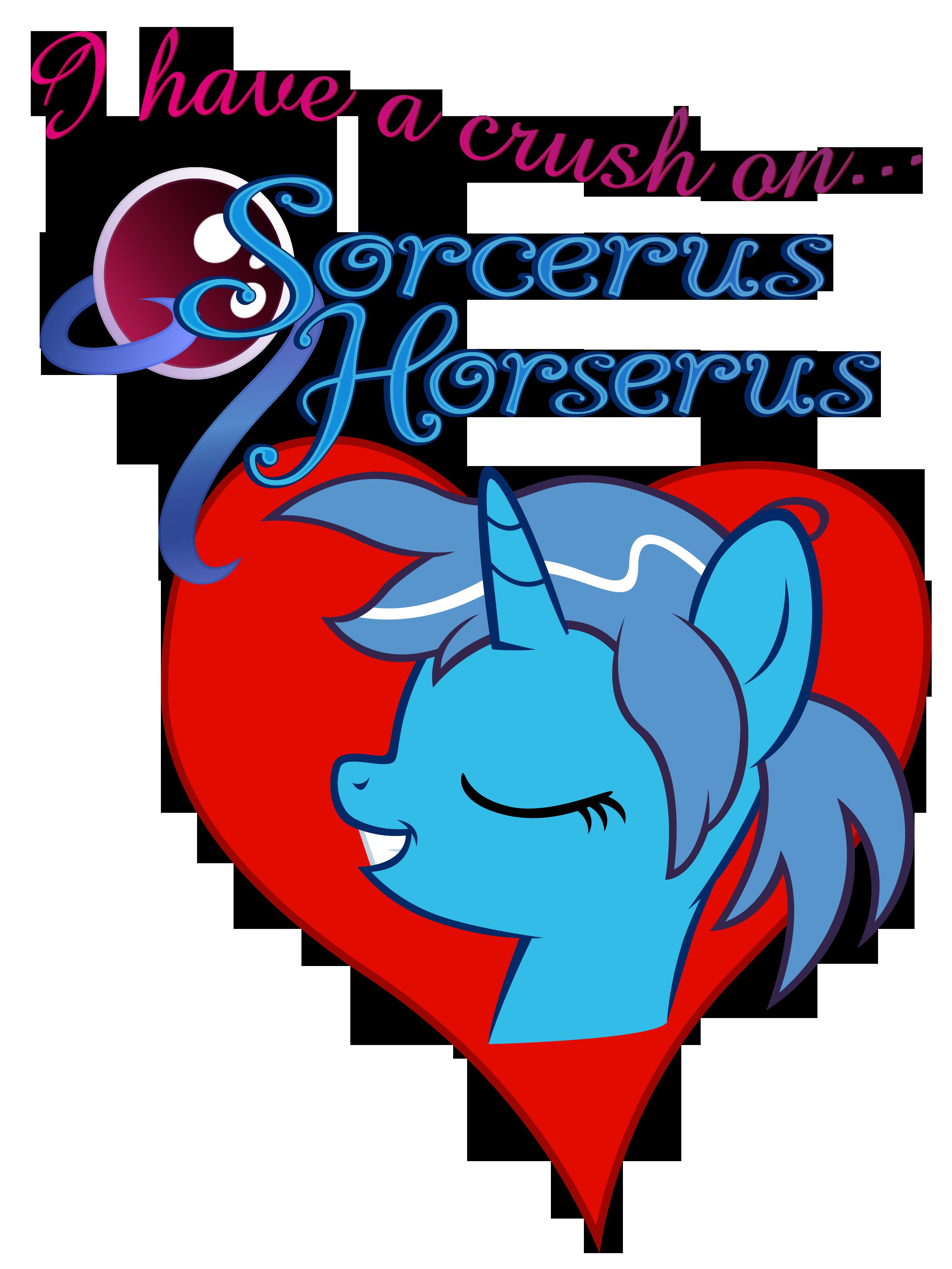 I heart SorcerusHorserus by Stinkehund