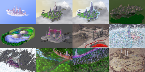 Megamare X Map-object concepts by Stinkehund