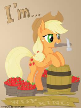 I'm... Applejack