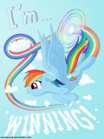 I'm... Rainbow Dash by Stinkehund