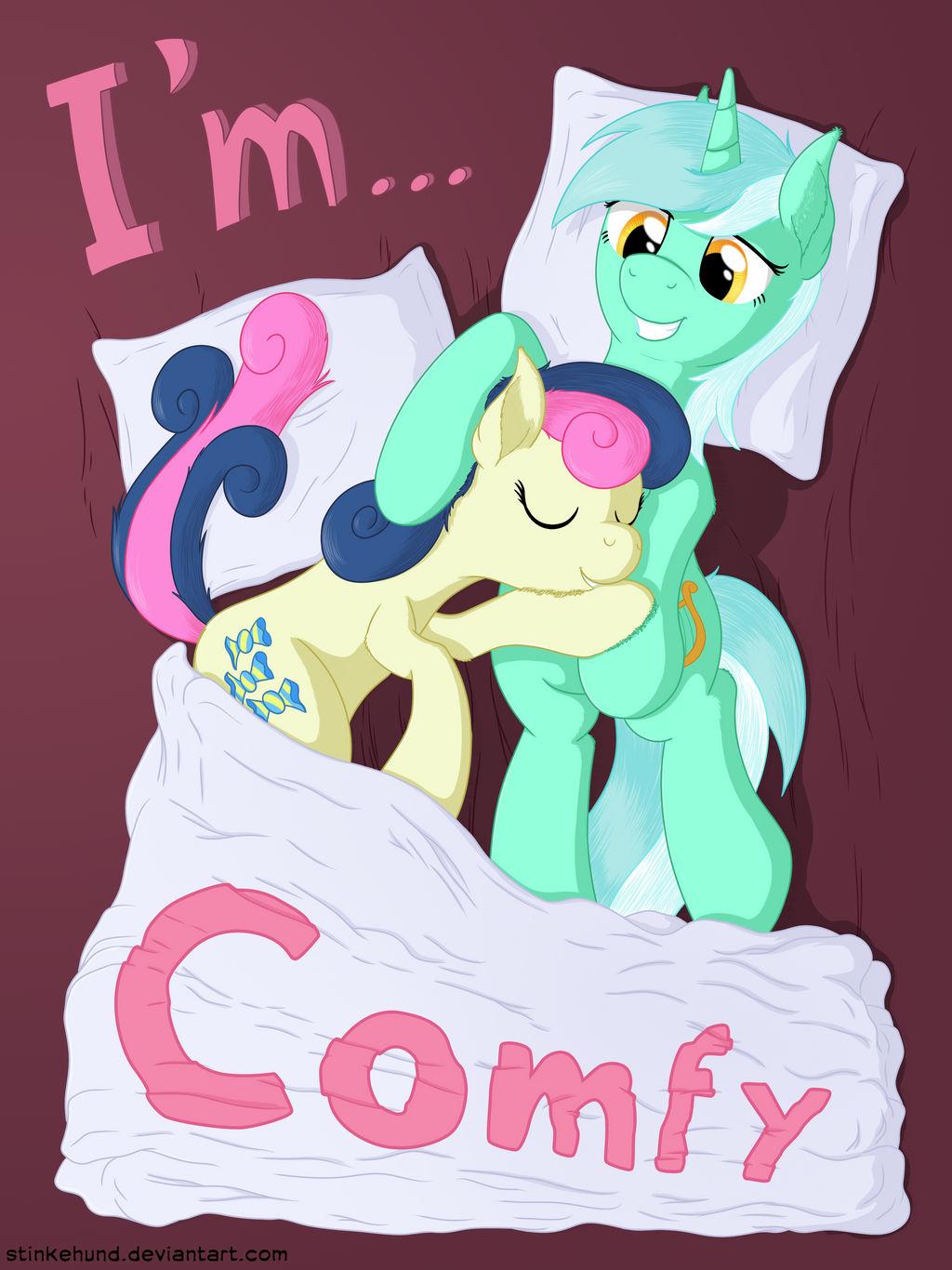 We're... Lyra and Bonbon