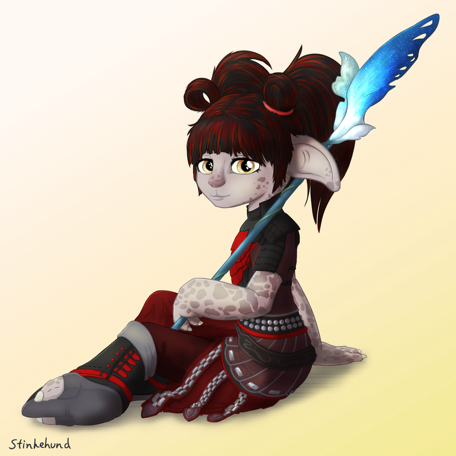Asura Elementalist by Stinkehund