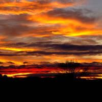 The Wavy Sky by h23b