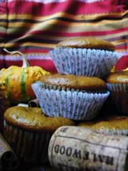 Fall cupcake by h23b