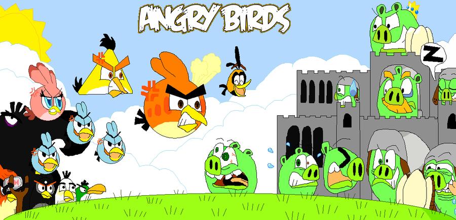 Angry Birds By FelixToonimeFanX360 On DeviantArt