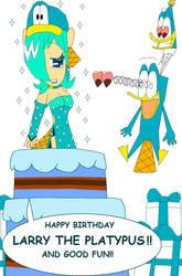 Happy Birthday Larry The Platypus!!