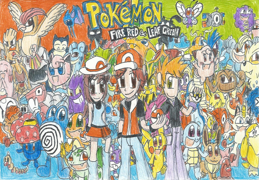 Pokemon firered and leafgreen begins by felixtoonimefanx360 on