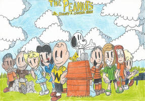 The Peanuts with Snoopy and Charlie Brown! by FTFTheAdvanceToonist