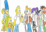 The Simpsons meets Futurama: The Super Crossovers!