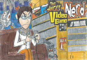 Angry Video Game Nerd by FTFTheAdvanceToonist