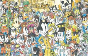 Happy 95th Birthday, Felix The Cat!! by FTFTheAdvanceToonist