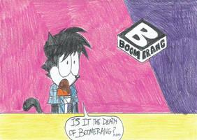 My Boomerang Rebrand's reaction by FTFTheAdvanceToonist