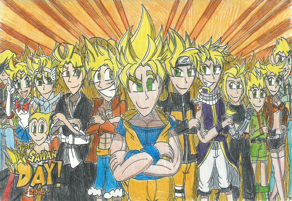 Super Saiyan Day of the Year! 2015 by FelixToonimeFanX360