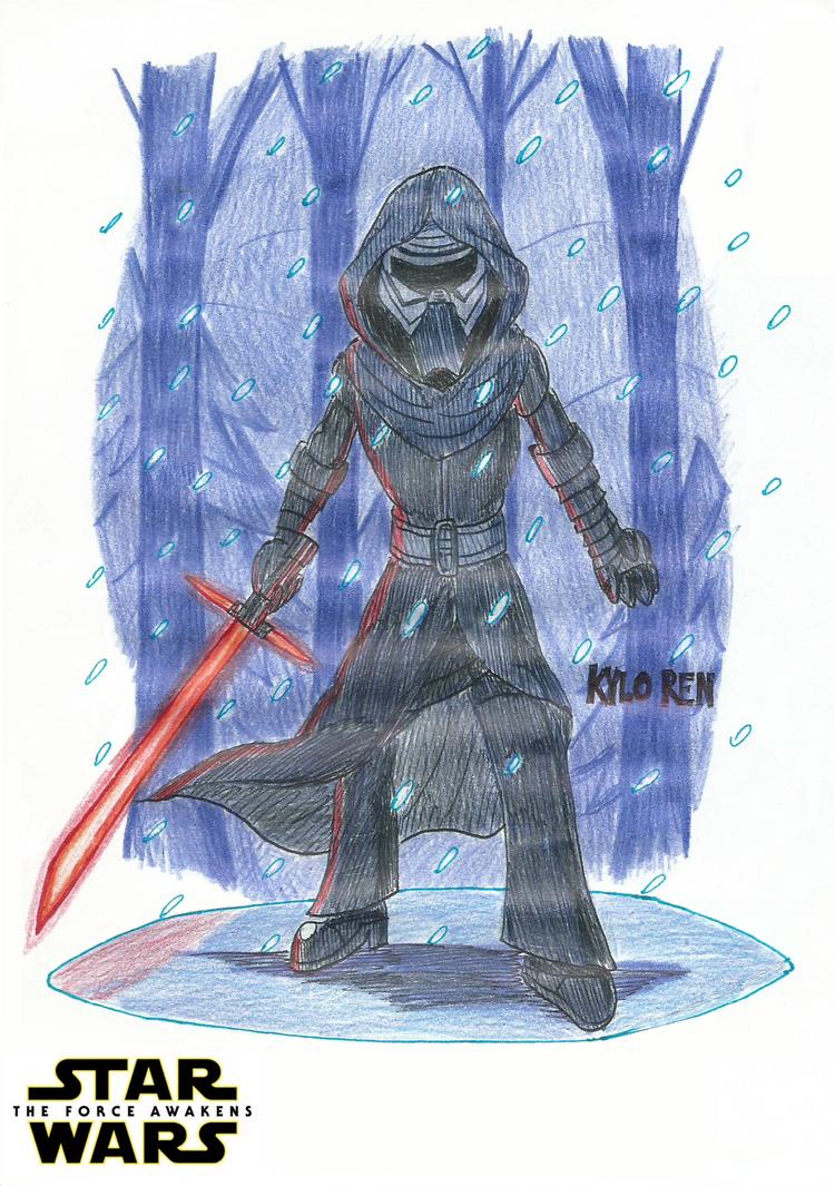 Kylo Ren - Star Wars: The Force Awakens by FelixToonimeFanX360