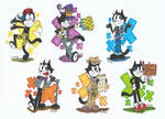 The Different Roles of Felix The Cat