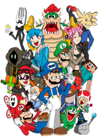 SMG4, including NEW Friends (Plus classics) by FTFTheAdvanceToonist
