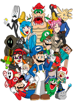 SMG4, including NEW Friends (Plus classics)