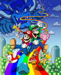 Super Mario Bros. Deluxe Redrawn by FTF