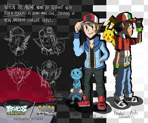 Pokemon Best Wishes Leaks: Hilbert, Unovian Ash?
