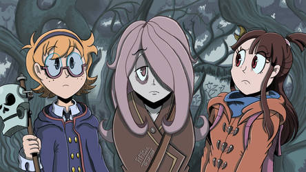 Little Witch Academia Redraw - A few of Western