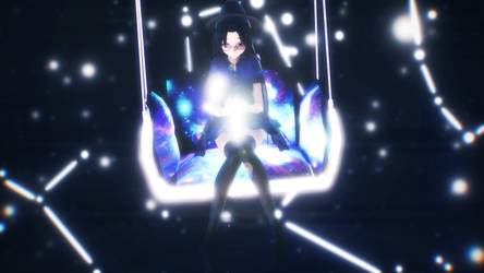 [MMD] In space + Livewire by 563blackghost