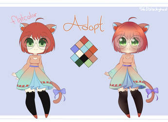 [Adopt] Chibi Adopt 1: CLOSED by 563blackghost