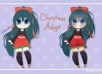 [Adopt] Christmas Chibi Adopt OTA: OPEN by 563blackghost