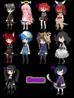 FREE ADOPTS (CLOSED 10/10) by Klcomm