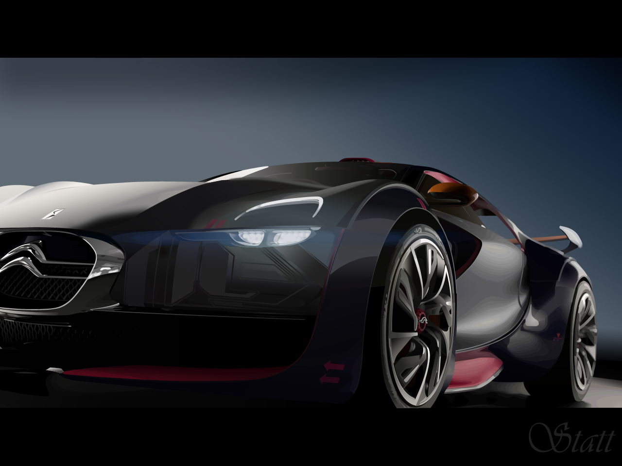 Citroen Survolt Concept 2010 by Statt