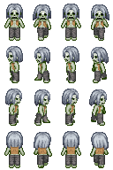 Zombie Sprite 2 for RPG Maker XP by TheStoryteller01