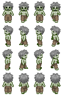 Zombie Sprite 4 for RPG Maker XP by TheStoryteller01
