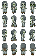 Zombie Sprite 5 for RPG Maker XP by TheStoryteller01