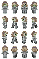 Zombie Sprite 8 for RPG Maker XP by TheStoryteller01
