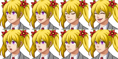 Faceset SF_Actor1_2 from RPG Maker MV for XP/VX by