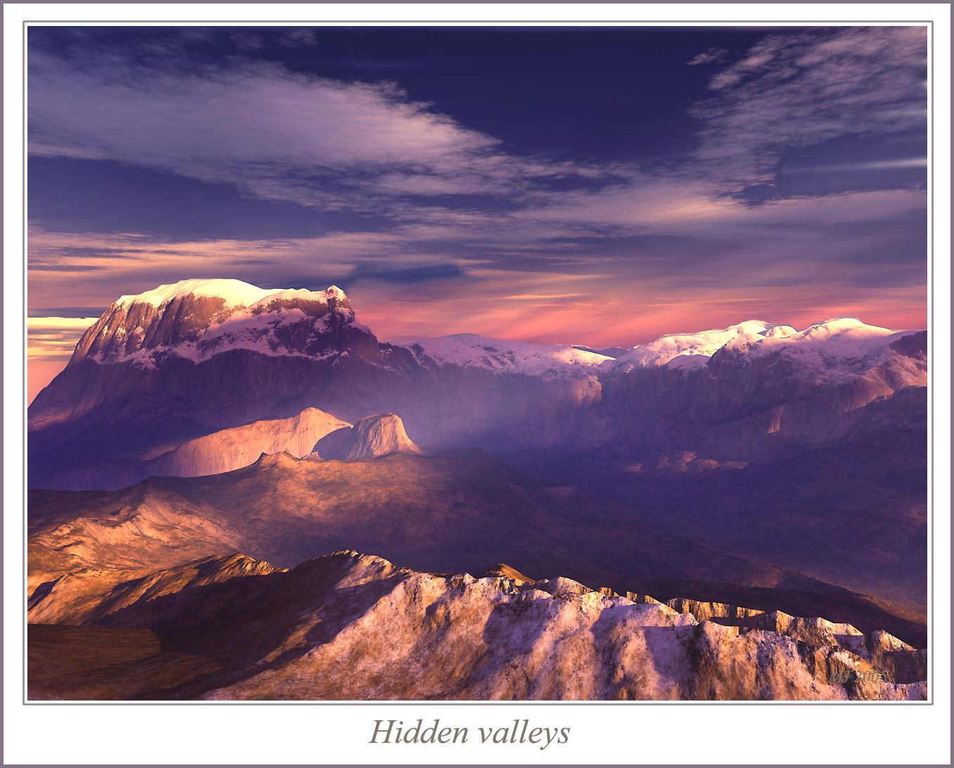 Hidden valleys by sandpiper6