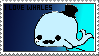 ~ I LOVE WHALES stamp ~ by cute-kawaii-pixels
