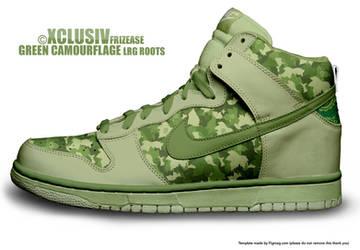 Nike n LRG  - AF1's - CAMO by Stylus2k