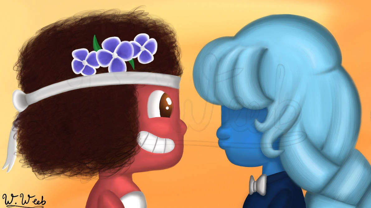 Ruby and Sapphire Wedding Day