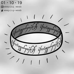 Inktober Day 1 : Ring
